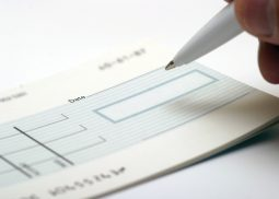 cheque-book
